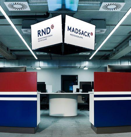 DYMATRIX Success Story: MADSACK Mediengruppe
